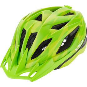 KED Street Jr. Pro Casque Enfant, yellow green